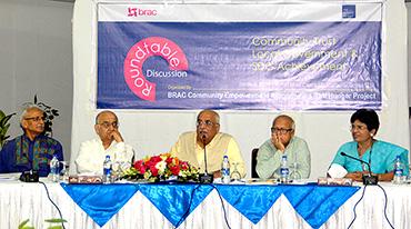 'Community Trust, Local Government and SDG Achievement' শীর্ষক গোলটেবিল বৈঠক অনুষ্ঠিত